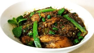 Black Pepper Flavored Chicken Curry Indian Style