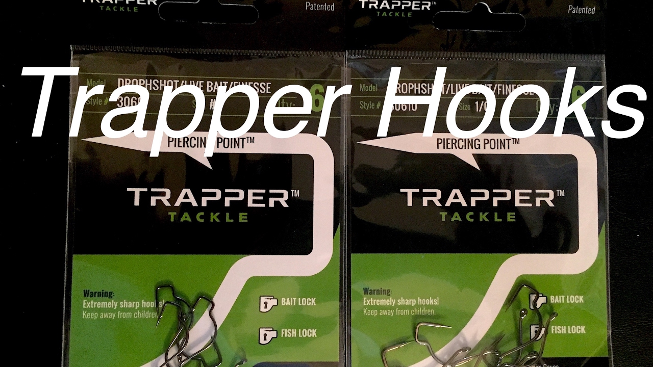 Making trapper hook leaders youtube for Charley s fishing supply
