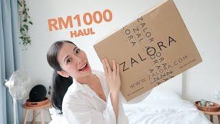 RM1000 HAUL + GIVEAWAY 💓⎮ Zalora Malaysia