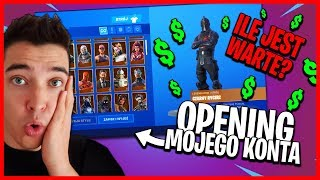 OPENING MY FORTNITE ACCOUNT-HOW MUCH IS WORTH? * OG SKINS *