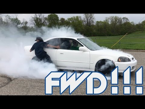 How To Do A FWD BURN OUT!