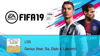 LSD - Genius (feat. Sia, Diplo & Labrinth) (FIFA 19 Soundtrack)