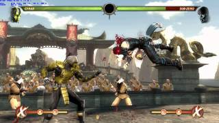 MK9 Cyrax 2 bar 91% damage reset