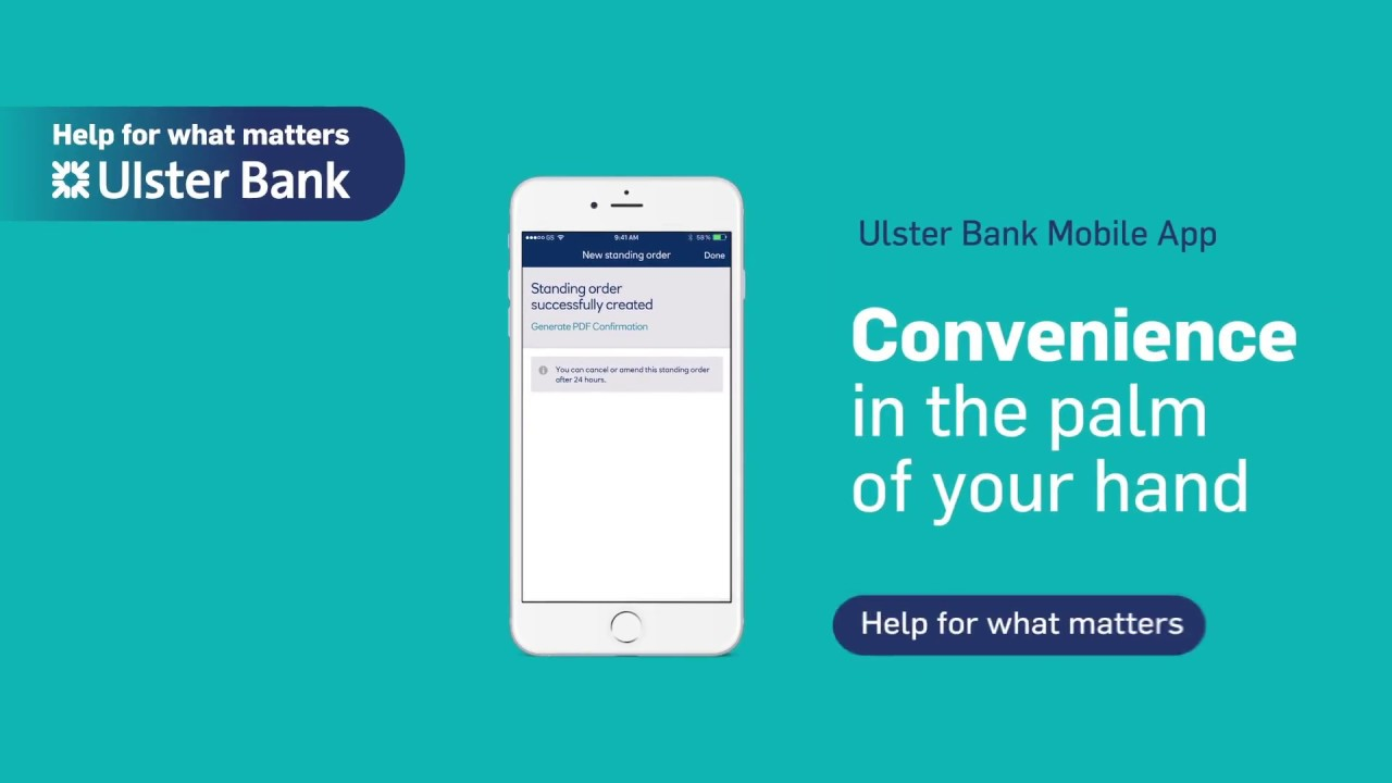 Mobile App Payments - Ways to Bank | Ulster Bank Republic of