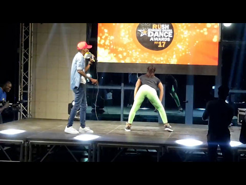 Mad Twerking Moves At Rush Energy Ghana Dance Awards'17