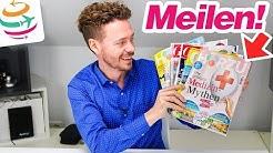 Mit Zeitschriften das Meilenkonto aufstocken, viele Meilen für wenig Geld! | YourTravel.TV