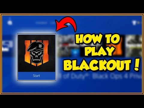How to PLAY THE BO4 BLACKOUT BETA! (A Full Guide on How to Download the Black Ops 4 Blackout Beta!)