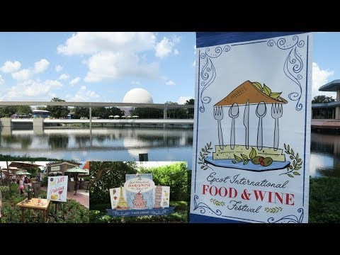 Epcot's Food & Wine Festival 2017