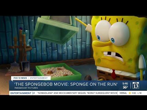 Golden Globe recap and new SpongeBob movie on the way