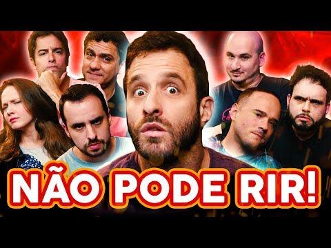 NÃO PODE RIR! com RAFINHA BASTOS thumbnail