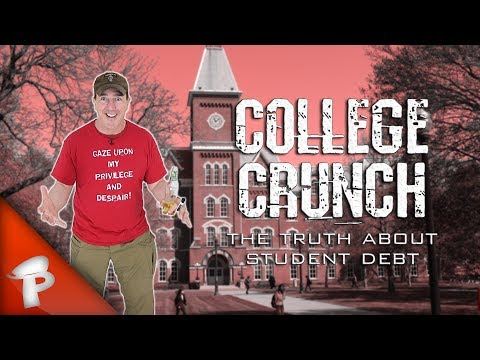 COLLEGE CRUNCH: The Truth About Student Debt   Redonkulas.com
