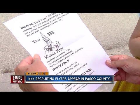 Ku Klux Klan aiming to recruit in Pasco County neighborhood