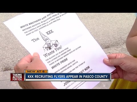 Ku Klux Klan aiming to recruit in Pasco County neighborhood