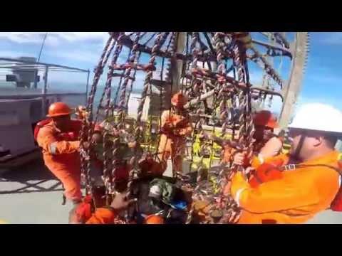 billy pugh at offshore by gopro ENSCO SEADRILL // la viuda en el área de plataformas gopro