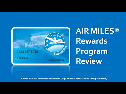 AIR MILES Rewards Program Review