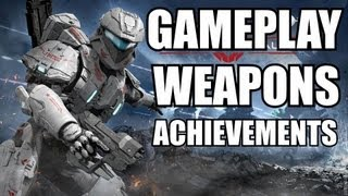 Halo Spartan Assault Gameplay! New Weapons & Spartan Abilities!