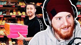 Unge REAGIERT auf Mois kauft WIRKLICH ALLE Donuts! | #ungeklickt