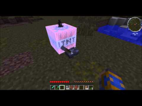 MINECRAFT TUTORIAL: how to make a TNT & Industrial TNT