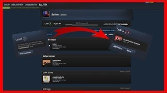 Schnell im Steam Level aufsteigen! [Steam Tutorial]