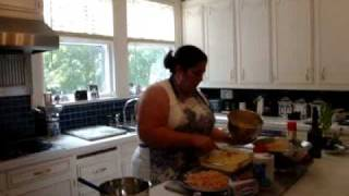 Dana Kerr's Seafood Lasagne With Philadelphia Cream Cheese.wmv