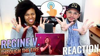 Regine Velasquez - Through The Fire | Live in Antipolo | REACTION