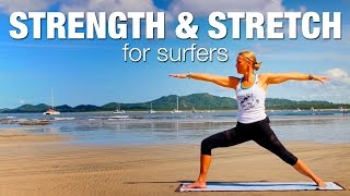Strength & Stretch for Surfers Yoga Class - Five Parks Yoga