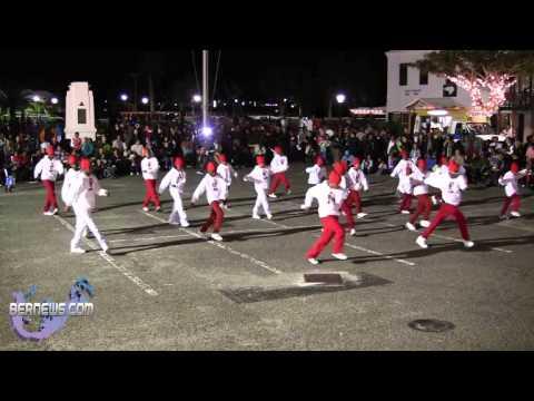 Bermuda Squad St Georges Santa Parade, Dec 8 2012