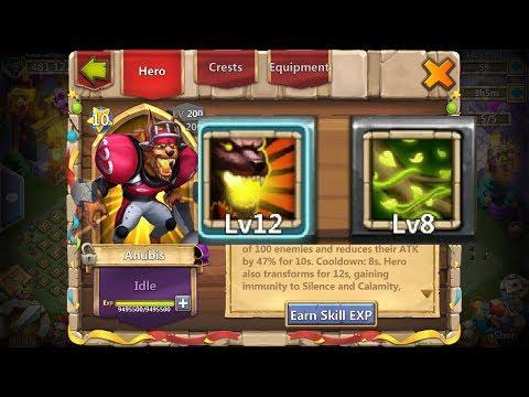 Vital Boon Anubis Gameplay L Castle Clash