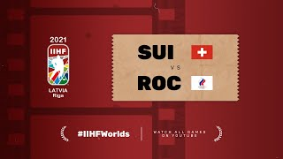 Switzerland - Russia | Live | Group A | 2021 IIHF Ice Hockey World Championship