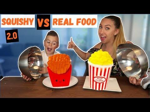SQUISHY FOOD VS