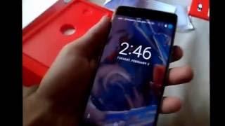unboxing do smartphone oneplus 3 (BRASIL) do aliexpress