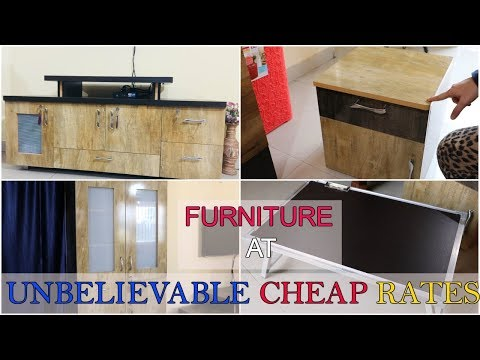 Cheapest Furniture Haul   Furniture at Unbelievable Cheap Rates   SuperStylish Namrata