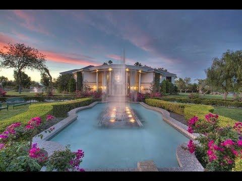 Wayne Newton Home Shenandoah Las Vegas The Spa Guy Part #2