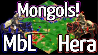 Sick Mongols War on Ravines! MbL vs Hera!