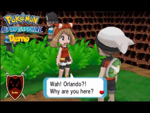 Pokemon Omega Ruby / Alpha Sapphire Demo | I'M GOING ON AN ADVENTURE!
