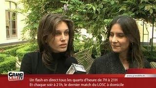 Jeune & Jolie : Marine Vacth / Géraldine Pailhas à Lille (Interview Exclu)