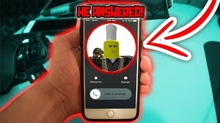 CALLING TOFUU!! *he answered* (Roblox)