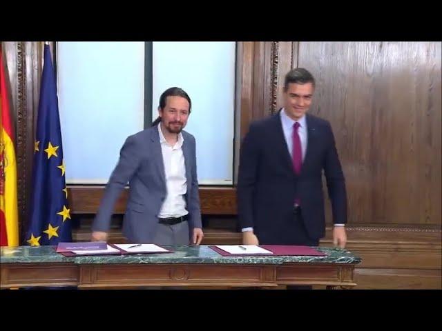 Iglesias deja el Gobierno español para aspirar a la presidencia de la región de Madrid