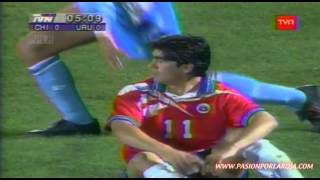 Chile 1 - 0 Uruguay 1996 - Eliminatorias Francia 1998