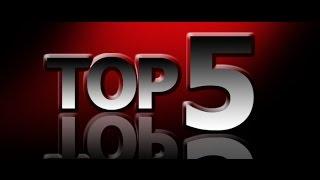 Топ 5 видео с наибольшим количеством просмотров.