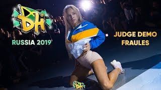 DANCEHALL INTERNATIONAL RUSSIA 2019| ALL STYLES BATTLE JUDGE DEMO - FRAULES