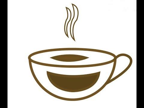 logo design illustrator - adobe illustrator tutorial logo design for beginners - coffee cup logo thumbnail