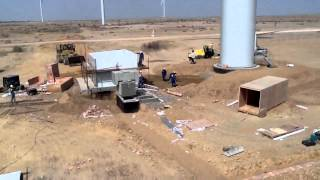 50 MW wind farm FAUJI   Pakistan ,construction SITE , by Salim Mastan