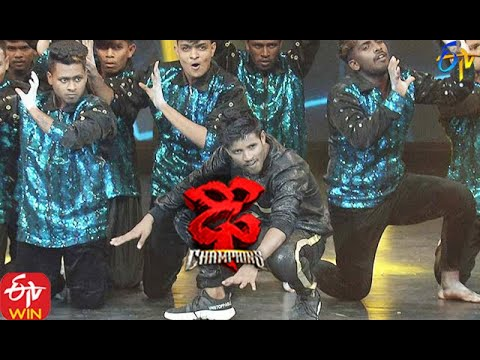 Raju Performance | Dhee Champions | 11th November 2020 | ETV Telugu
