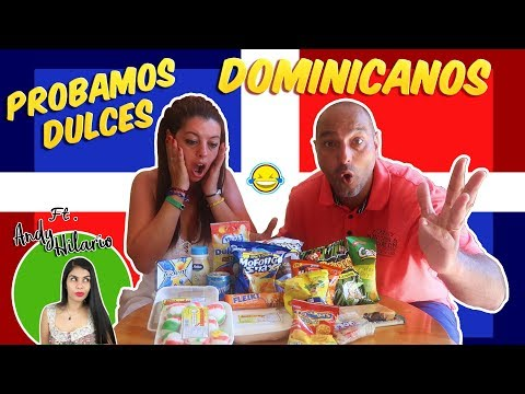 TRYING GUMMIES REPÚBLICA DOMINICANA ft ANDY HILARIO  Probamos dulces  Bego y Jordi