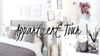 HOME TOUR - UPDATED APARTMENT TOUR, OFFICE & LIVING ROOM TOUR & BEDROOM TOUR & HOME TOUR