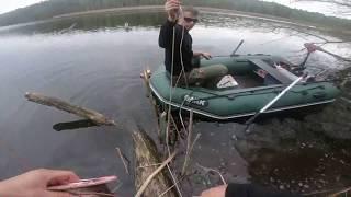 Łowienie karpi w zaczepach cz. 1 z 2