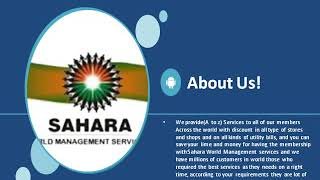 SAHARA WORLD MANAGEMENT SERVICES Conference event-2014