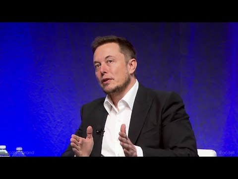 Elon Musk - Full Interview : July 15, 2017 NGA Conference