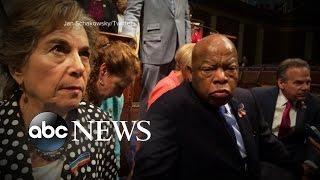 Democrats Stage Sit-In to Get Gun Control Vote